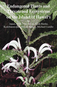 Cover of *Endangered Plants and Threatened Ecosystems on the Island  of Hawaii*
