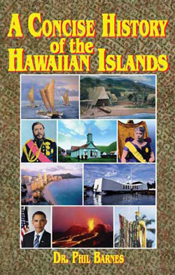 Cover of *A Concise History of  the Hawaiian Islands*